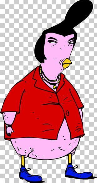 Eric Duckman George Herbert Walker 'King' Chicken Character TV Tropes Comics PNG