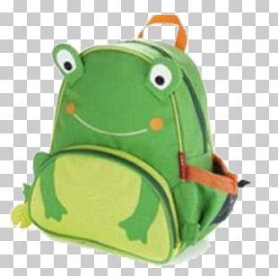 Frog Backpack Child Bag Lunchbox PNG