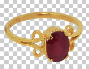 Ruby Ring Jewellery Gemstone Gold PNG