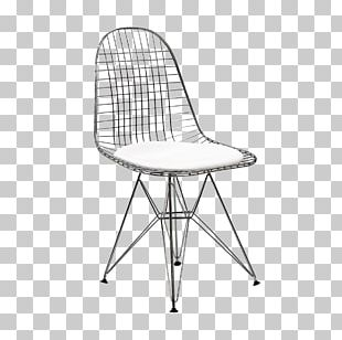 Eames Lounge Chair Wood Wire Chair (DKR1) Charles And Ray Eames PNG