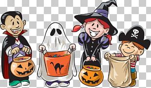 Trick-or-treating Open Halloween PNG