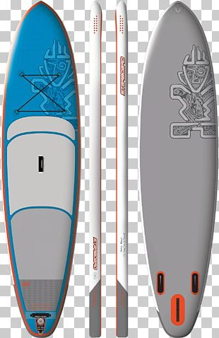 Standup Paddleboarding Inflatable Port And Starboard I-SUP PNG