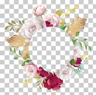 Wreath Floral Design Flower Bouquet Cut Flowers PNG