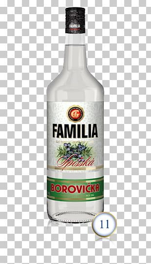 Liqueur Borovička Vodka Distilled Beverage Brandy PNG