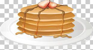 Pancake Full Breakfast Illustration PNG