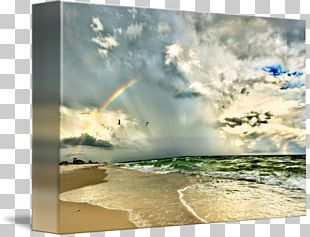 Shore Wind Wave Sea Painting PNG