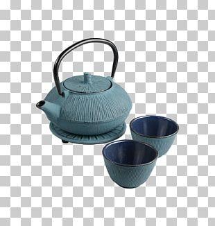 Kettle Teapot Bancha Green Tea PNG