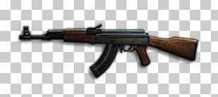 Firearm Weapon AK-47 Rifle PNG