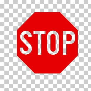 Stop Sign Traffic Sticker Road PNG