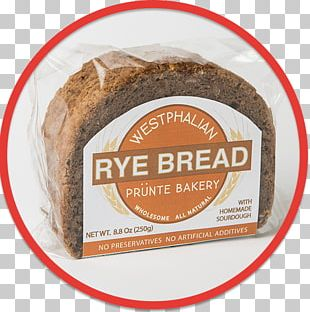 Rye Bread Pumpernickel Bakery Whole Grain PNG
