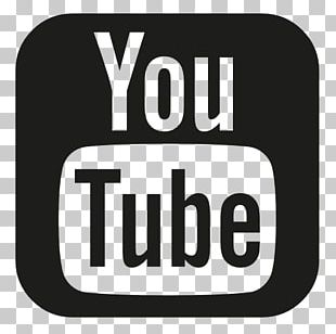 YouTube Logo Computer Icons Black And White PNG