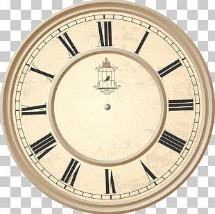 Clock Roman Numerals Birdcage PNG