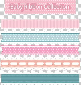 Paper Ribbon Pink Lace PNG