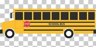 School Bus Yellow Transport PNG