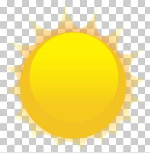 Yellow Orange Design Circle PNG