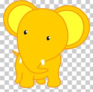 Elephant Cartoon PNG