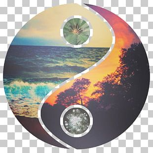 Yin And Yang Desktop Circle Space Drawing PNG