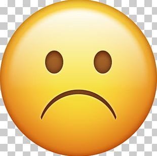 IPhone Emoji Sadness Smiley Emoticon PNG