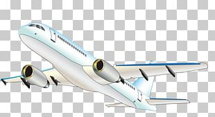 Airplane Aircraft Airbus Cartoon PNG