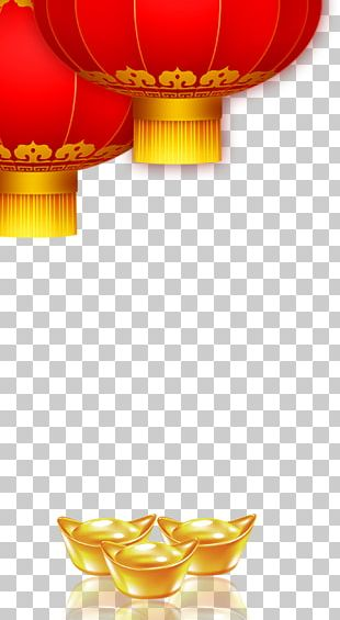 Lantern Chinese New Year Lunar New Year Firecracker PNG