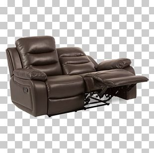 Recliner Fauteuil Massage Chair Furniture Leather PNG