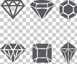 Tattoo Diamond Black-and-gray PNG