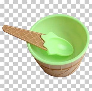Ice Cream Cones Sundae Waffle Bowl PNG