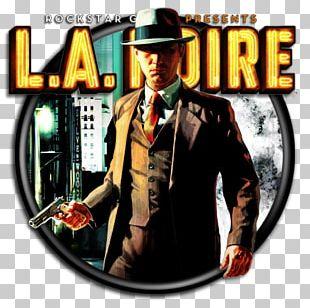 L.A. Noire Red Dead Redemption Rockstar Games Video Game Cole Phelps PNG