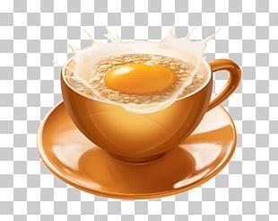 Barley Tea Tea Egg Hong Kong-style Milk Tea Coffee PNG