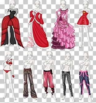 Costume Design Dress Clothing Drawing PNG