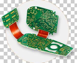 Flexible Electronics Printed Circuit Board Flexible Circuit Electrical Network PNG