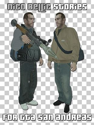 Grand Theft Auto IV Grand Theft Auto: San Andreas Niko Bellic Military Soldier PNG