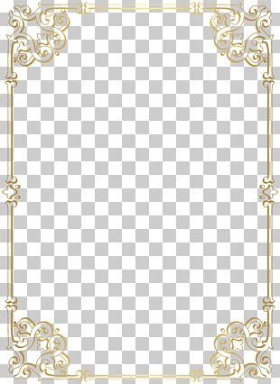 Decorative Border Frame PNG