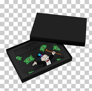Rich Uncle Pennybags Monopoly Money Bag Game Wallet PNG