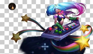 League Of Legends Riot Games Polycount Sona Ahri PNG