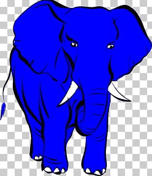 Logos! Informatik GmbH Elephant Cornflower Blue PNG