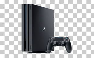 Sony PlayStation 4 Pro Video Game Consoles PNG