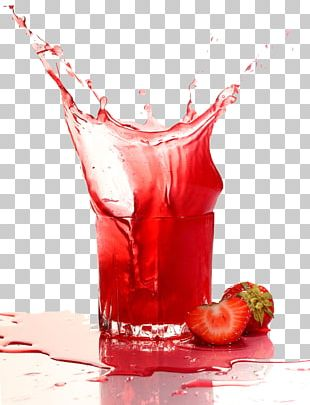 Strawberry Juice Soft Drink Purxe9e PNG
