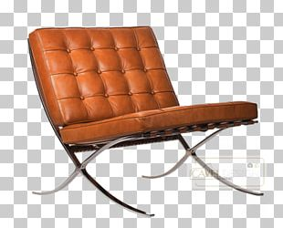 Barcelona Chair Eames Lounge Chair Egg Leather PNG