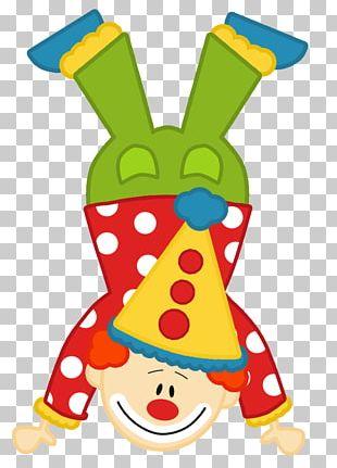 Clown Circus YouTube Pin PNG