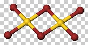 Gold(III) Bromide Gold(III) Chloride Ball-and-stick Model PNG