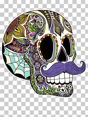 Calavera Mexican Cuisine Mexico Day Of The Dead Skull PNG