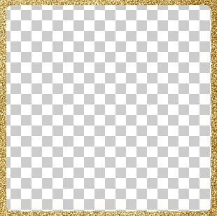 Creative Golden Frame PNG