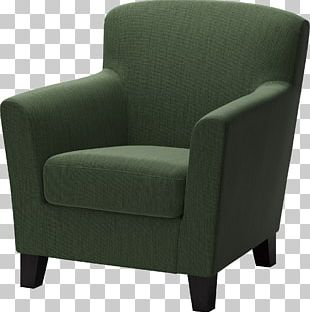 IKEA Wing Chair Couch Furniture PNG