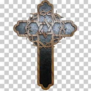 Crown Of Thorns Crucifix Cross And Crown Christian Cross PNG