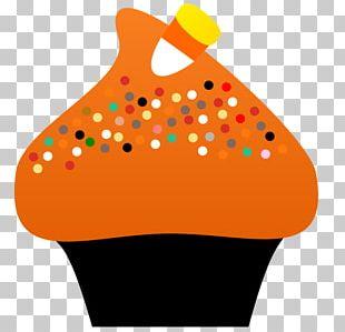 Cupcake Halloween Cake Candy Corn Birthday Cake PNG