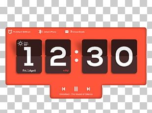 Car Display Device Alarm Clocks Digital Clock PNG