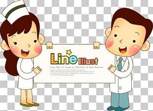 Nurse Physician Cartoon Patient PNG