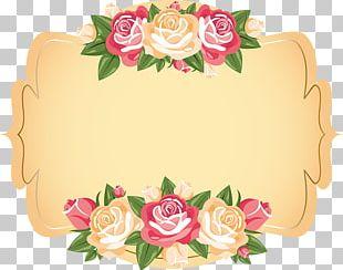 Wedding Invitation Paper Label Flower PNG