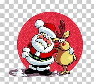 Santa Claus Is Comin' To Town Christmas PNG